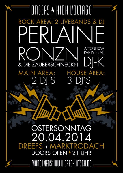 Perlaine Live-Konzert im Dreefs/Marktrodach